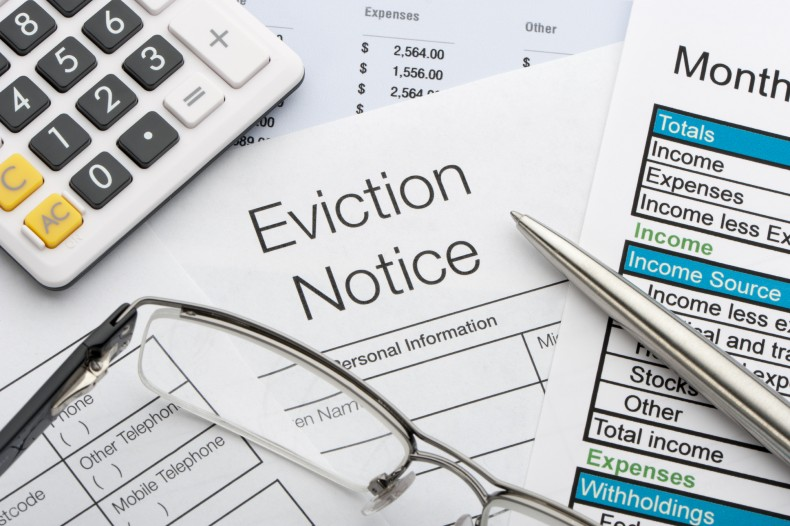Landlord-Tenant Dispute, Eviction Notice, Repossession